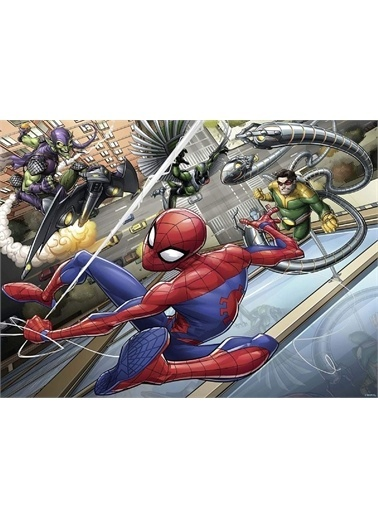 Ravensburger 200 Parça Puzzle Spiderman 127306 Renkli